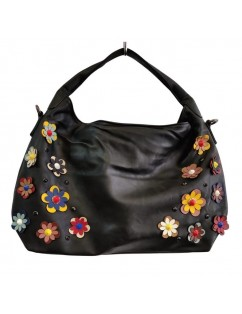 Eco-leather bag, Black...