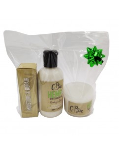 CB&CO Set - Cannabis Face and Body Hydration Shock.