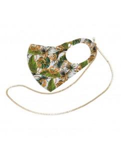 Jungle Print Neoprene Mask...
