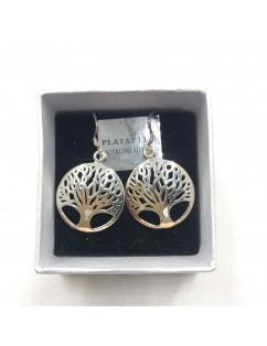 copy of SILVER PLATED SPIRAL EARRINGS