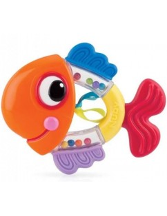 Nuby Fish Rattle Teether