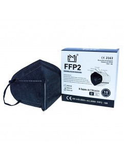 Mask FFP2 Black Box 10pc