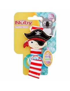 Nuby Universal pacifier tape with pacifier gift!