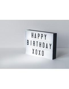 Happy Birthday Light Box
