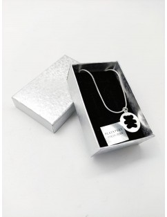 Necklace with 925 sterling...