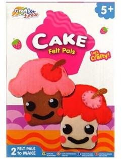 Juego Cake Felt Pals