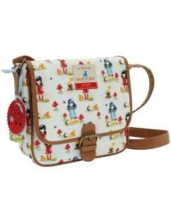 Santoro - Gorjuss pastel print shoulder bag