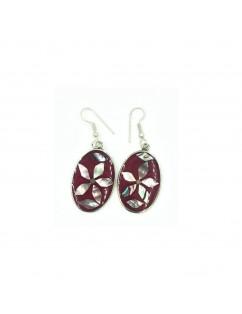 Mexican silver earrings,...