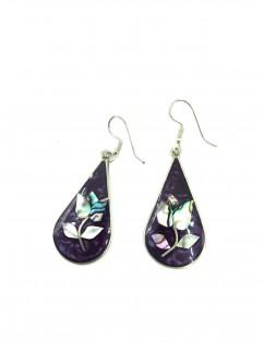 Mexican silver earrings...