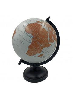 Earth Globe for children and Adults Educational Toys, White.