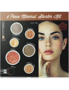 COUGAR BEAUTY MINERAL STARTED KIT  Makeup 8Pc