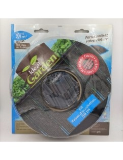 Black screening mesh for gardens, terraces, construction or as a half shade.
