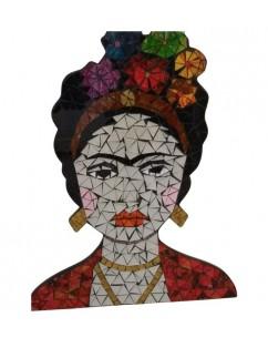 Frida Khalo painting with...