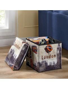 Storage Stool, London Storage Box