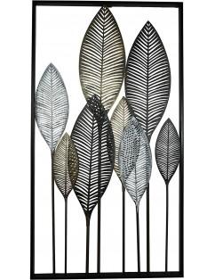 Metal frame for hanging